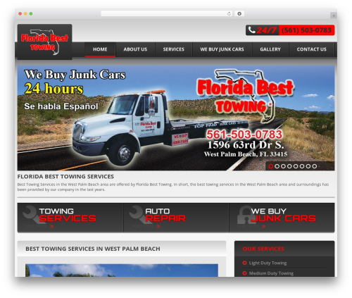Theme WordPress cherry - flbesttowing.com