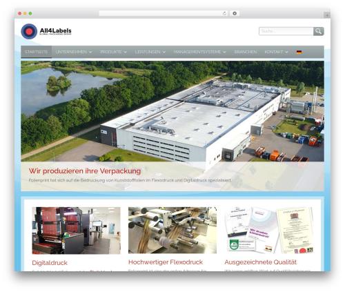 WordPress megamenu-pro plugin - folienprint.de