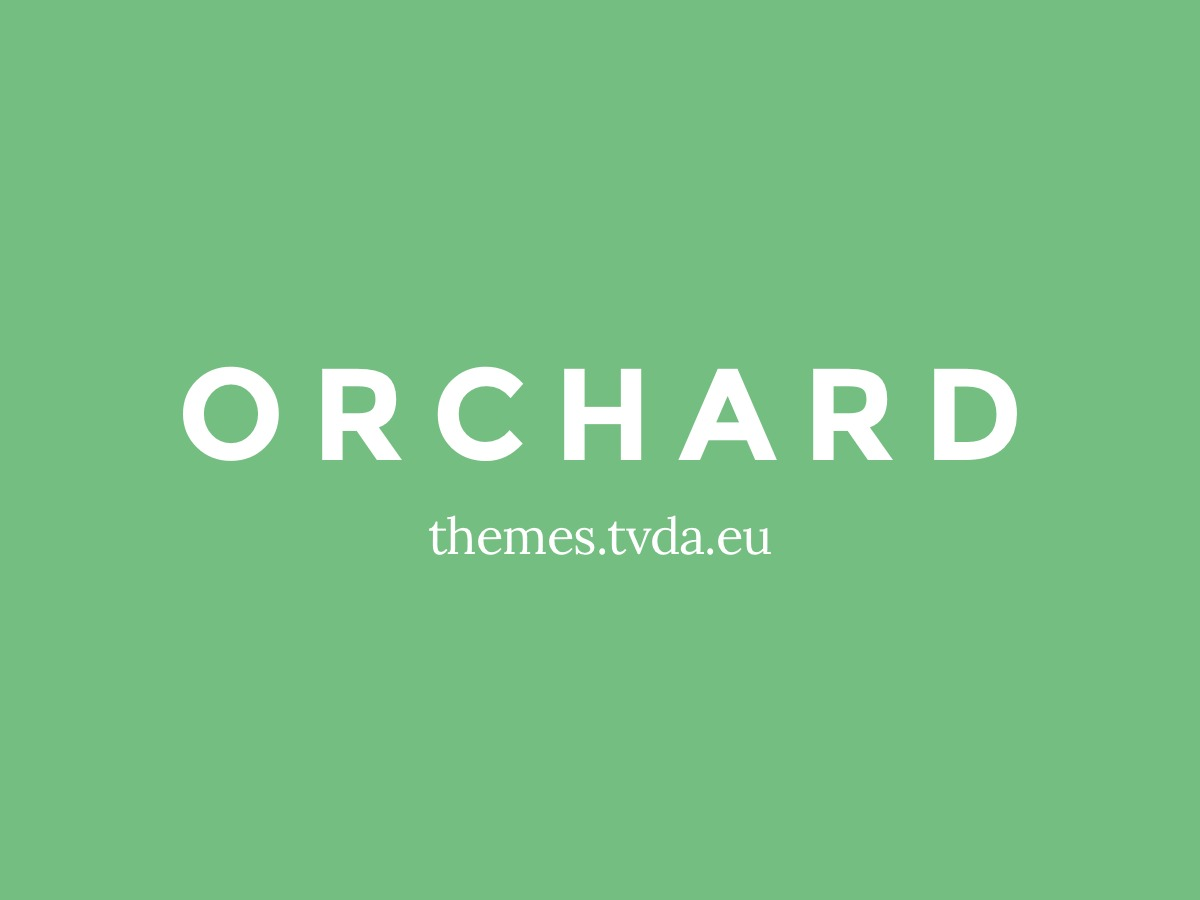Theme WordPress Orchard