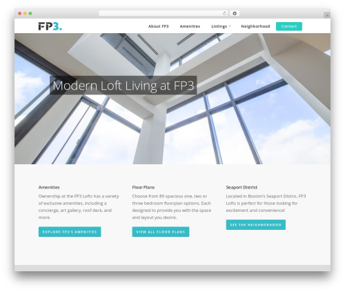 Theme WordPress Salient - fp3-lofts.com