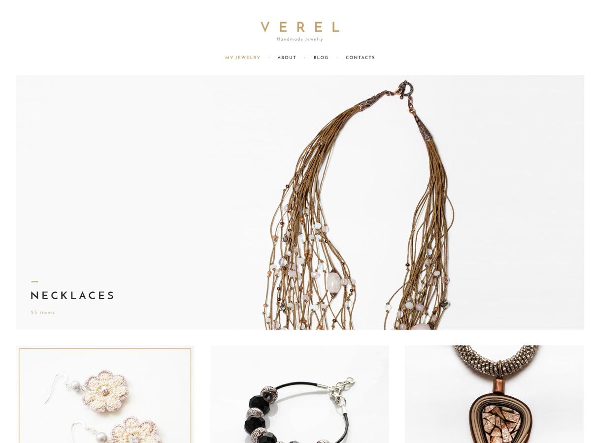 Verel top WordPress theme