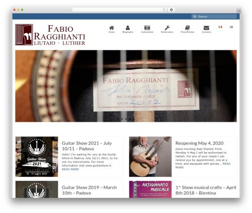 Virtue free WP theme - fabioragghianti.com