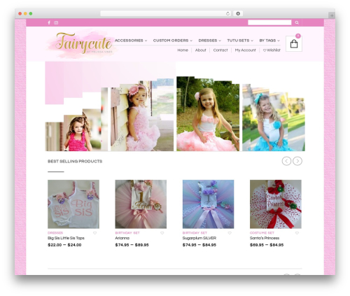 WordPress theme The Retailer — Fairycute - fairycute.com.au