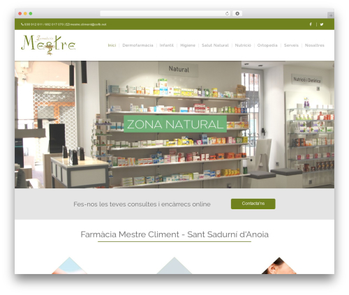 WordPress theme WP Yamato - farmaciamestrecliment.com