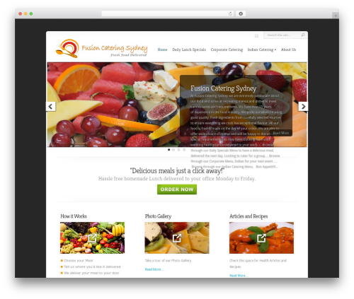 Free WordPress Price Table plugin - fusioncateringsydney.com