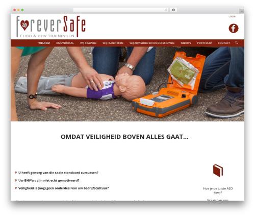 WPLMS theme WordPress - foreversafe.nl