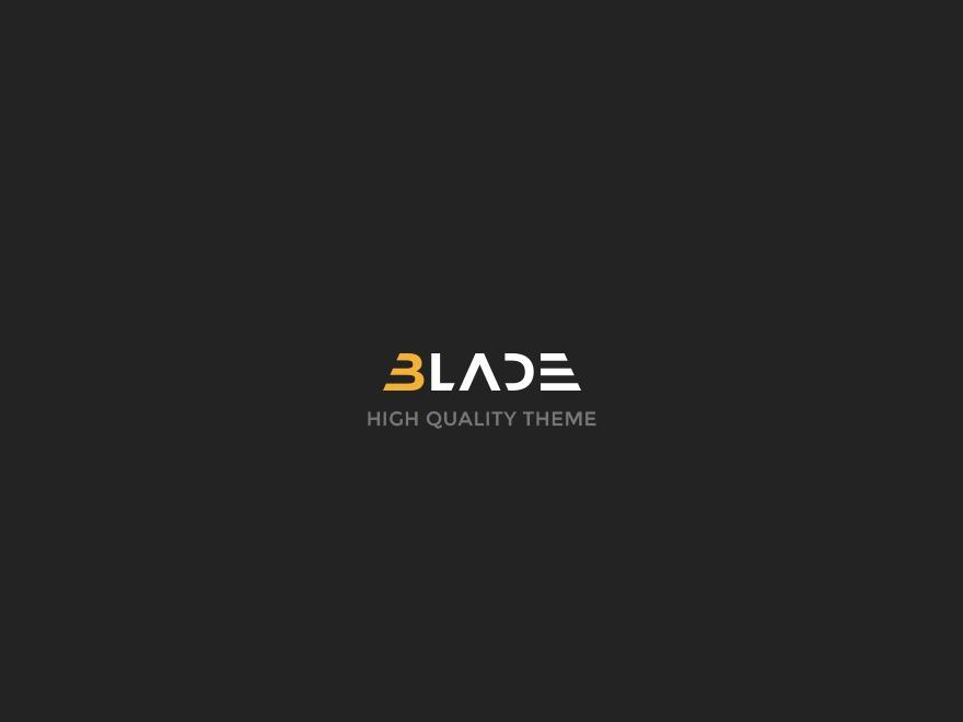 Best WordPress template Blade