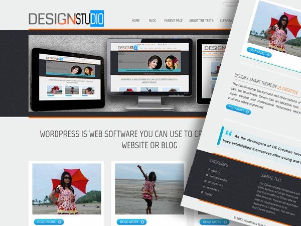 d5-design business WordPress theme