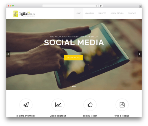 Devoll WordPress theme - digitaladagency.com