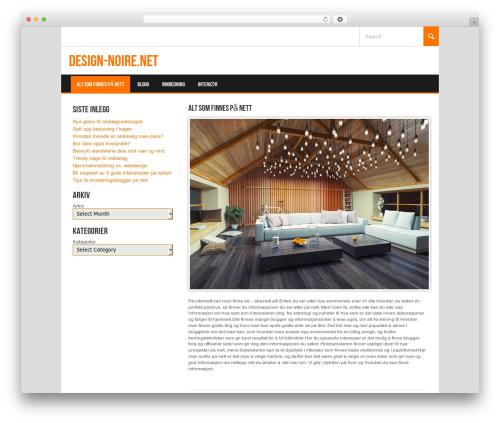 Koenda WordPress theme design - design-noire.net