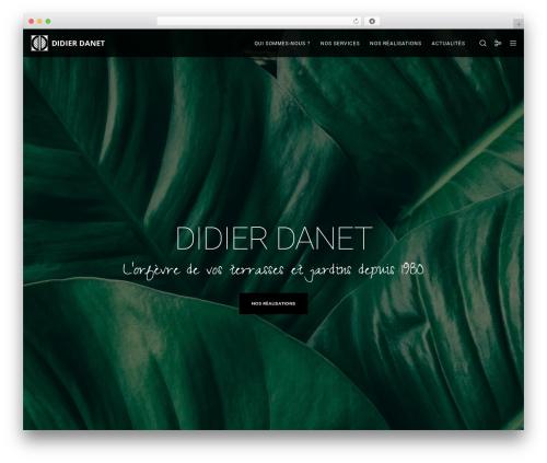 Movedo WordPress template - didierdanet.fr