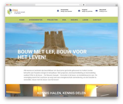 Pikocon WordPress theme - dnaindebouw.nl