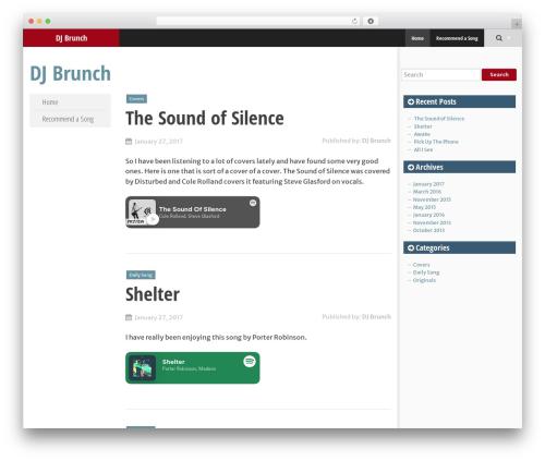 SmartAdapt WordPress free download - djbrunch.com