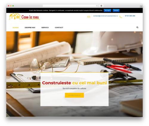 Tanj premium WordPress theme - construimcaselarosu.ro