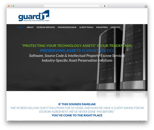 Template WordPress cherry - dev.guard-it.com