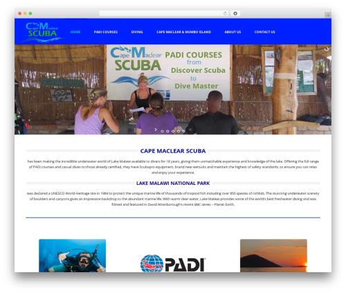 Theme WordPress Jupiter - divinglakemalawi.com