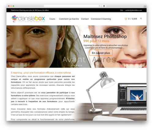 Theme WordPress Storesy - danslabox.com