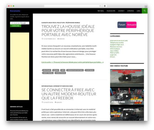 Free WordPress googleCards plugin - keroinsite.com