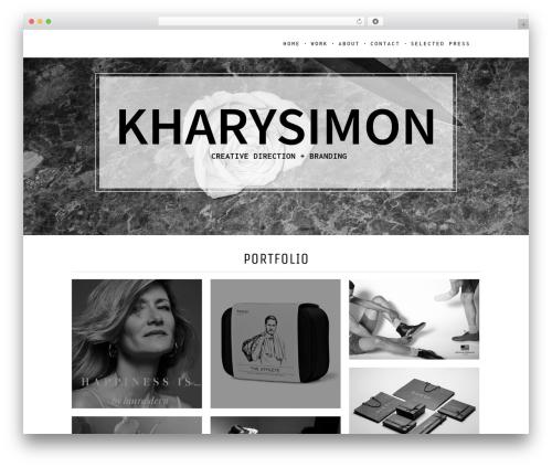 Vika top WordPress theme - kharysimon.com