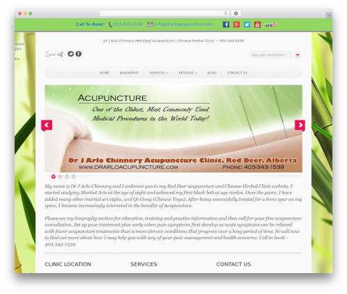 Free WordPress Simple Social Share plugin - drarloacupuncture.com