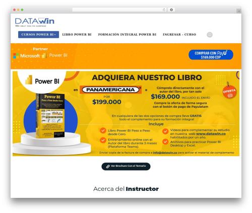 Appointment Blue free WordPress theme by webriti