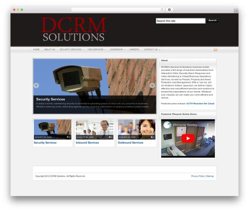 Arras theme WordPress - dcrmsolutions.com