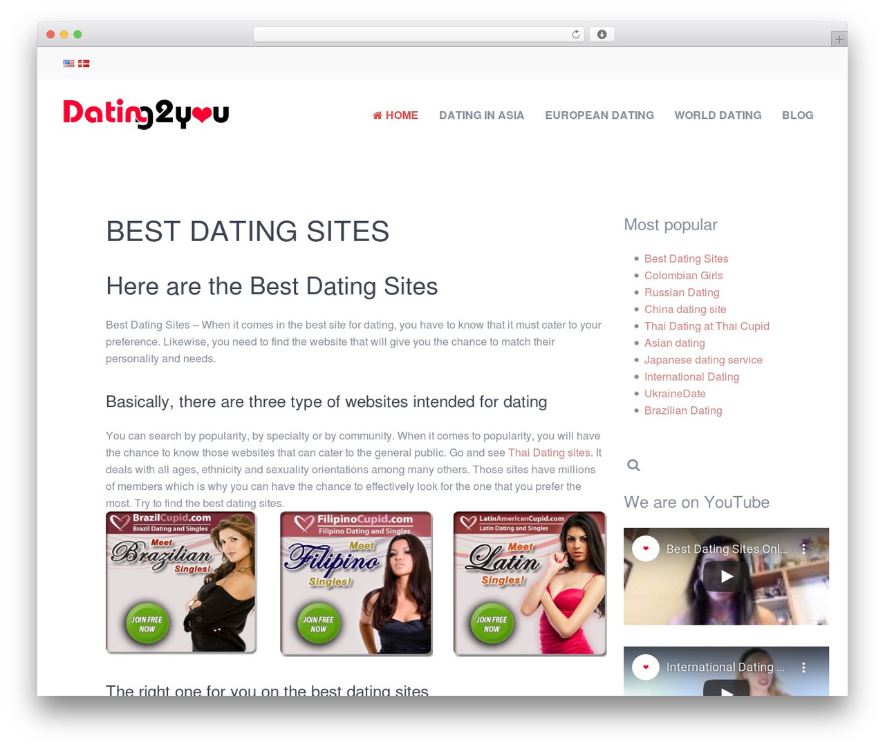 best wordpress themes for dating sites