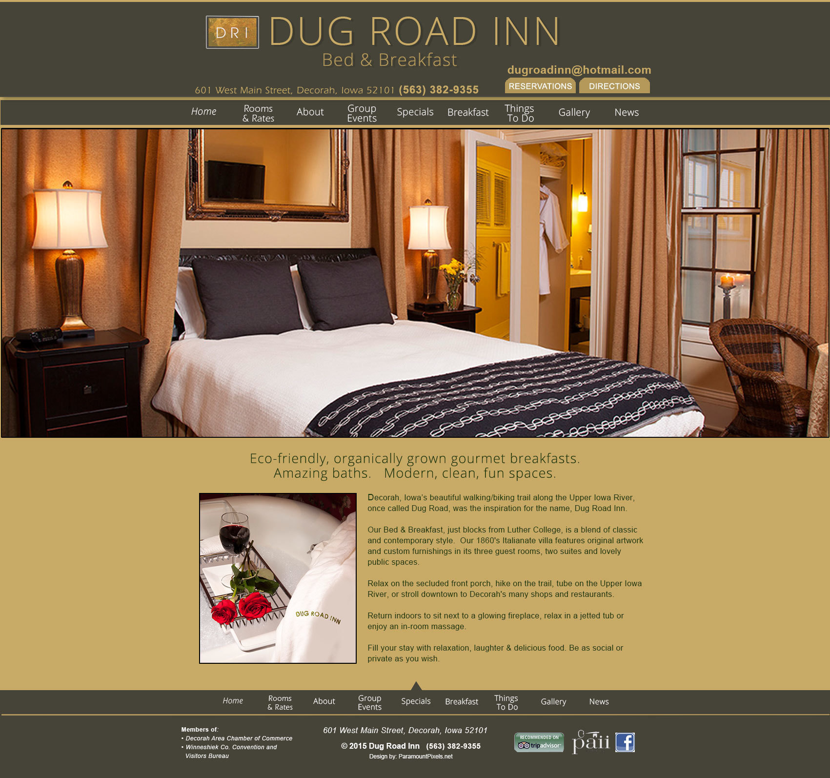 Dug Road Inn Wallpapers Wordpress Theme By Wam Creative Agency
