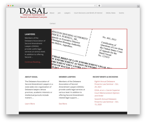 Executive Pro Theme best WordPress theme - dasal.org