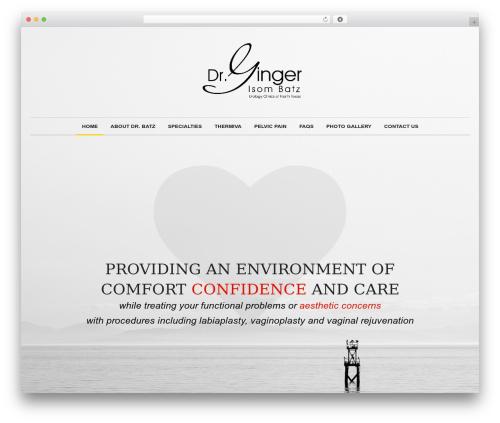 Novalumen WordPress theme - dallasvaginalsurgery.com