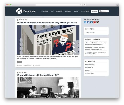 Postline template WordPress - dstanca.net