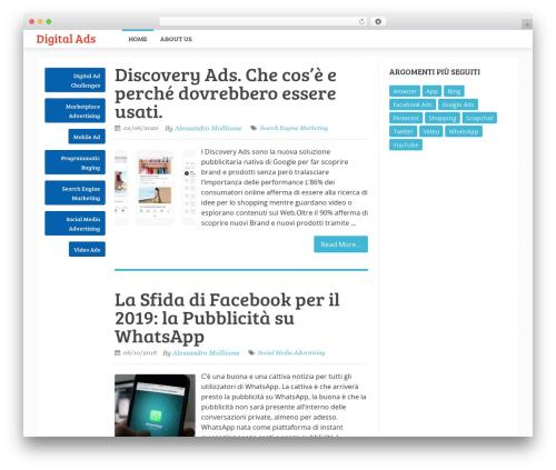 Sensational by MyThemeShop WordPress magazine theme - digitalads.eu