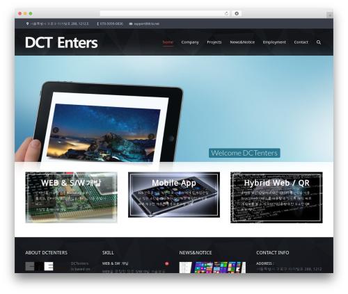 Theme WordPress The7 - dctz.net