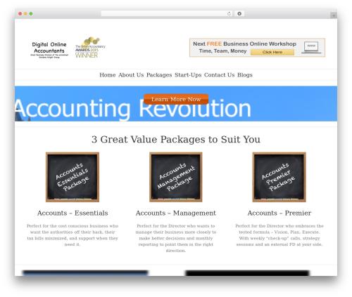 WordPress template Avada - digitalaccountants.co.uk