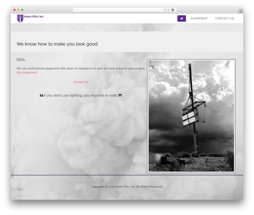 edsbootstrap theme WordPress - keersfilm.com