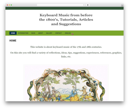 Headline News template WordPress - keesrosenhart.com
