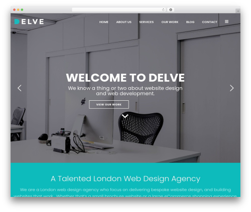 Jupiter WordPress shop theme - delvedesign.co.uk