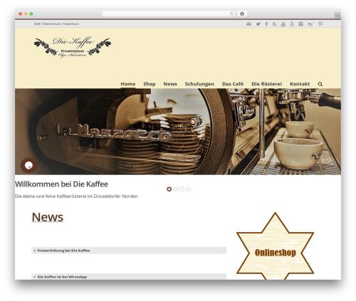 Free WordPress Google Reviews Widget plugin - die-kaffee.de