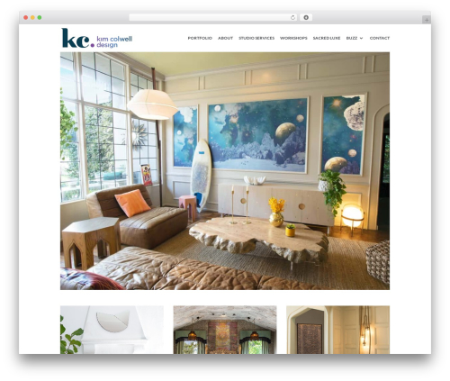 WordPress elfsight-instagram-feed-cc plugin - kimcolwelldesign.com