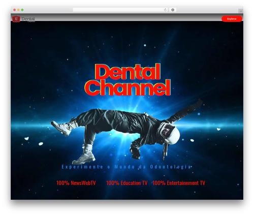 videopro WordPress video theme - dentalchannel.com.br