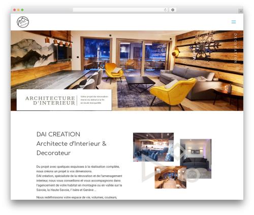 WordPress theme Betheme - dai-creation-decorateur.fr