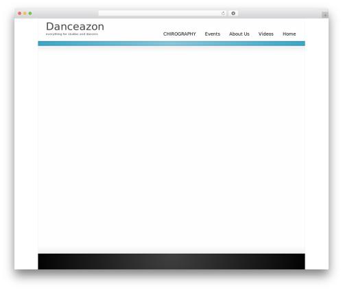 WordPress theme Striking MultiFlex & Ecommerce Responsive WordPress Theme - danceazon.com