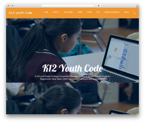 Applay best WordPress theme - k12youthcode.com