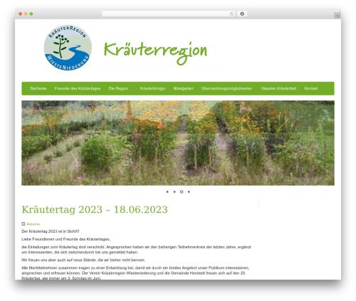 WordPress slider plugin - kraeuter-und-mehr.de