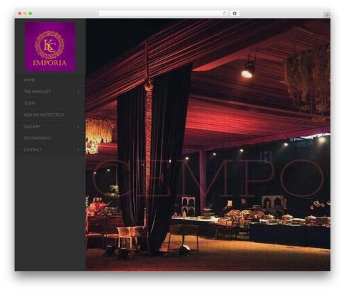 Best WordPress template Toranj (shared on wplocker.com) - kcemporia.com