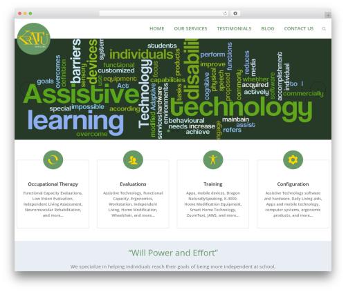 Kapital premium WordPress theme - kratu.org