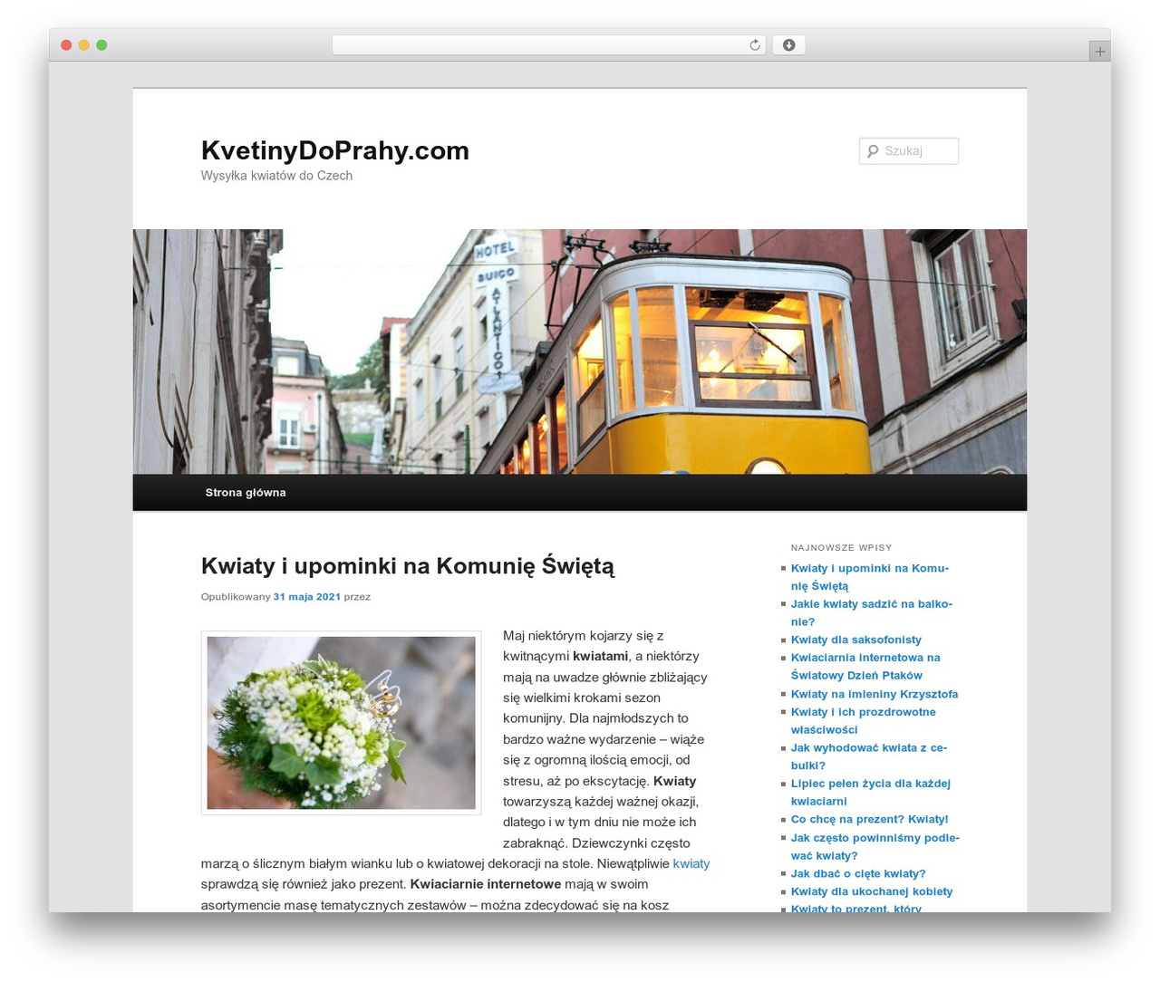 Twenty Eleven WordPress theme download - kvetinydoprahy.com