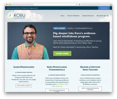 WordPress popup-maker-exit-intent-popups plugin - korumindfulness.org