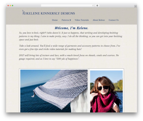 X WordPress template - knitwit.me