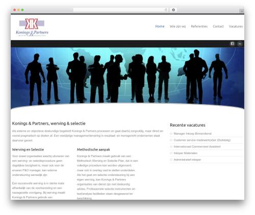 Best WordPress template Celestial Reloaded - koningsenpartners.nl